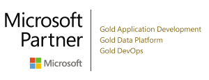 Microsoft gold partner in application development, data platform and DevOps