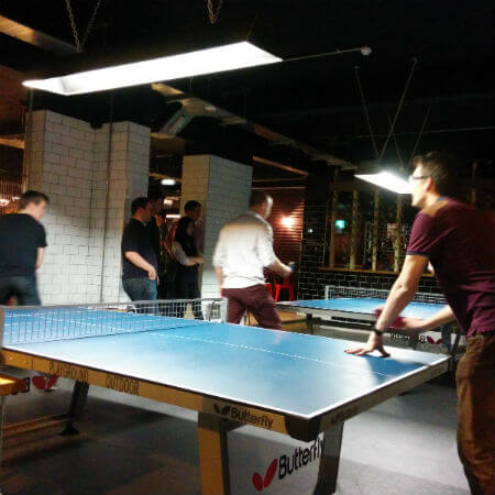 annual table tennis competition